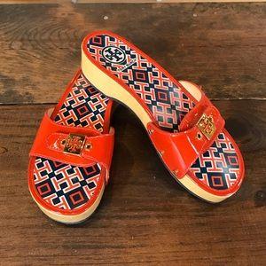 Tory Burch Dixon Slide Sandals, Size 8.5 🤩😎